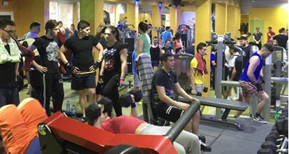 Poze club fitness Body Line Gym Tătărași