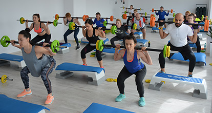 Poze club fitness D'Point Studio